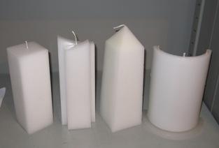 nieuw model kaarsen