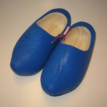 geboorteklompjes blauw